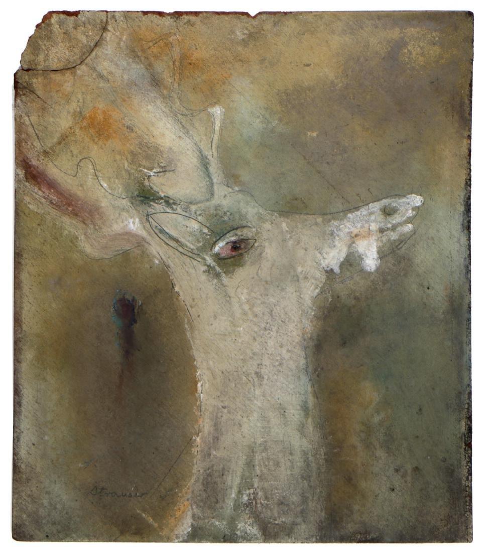 Sterling Strauser (1907-1995) Deer, c. 1950s