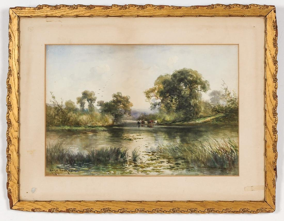 Hugo Anton Fisher (1854-1916) Landscape