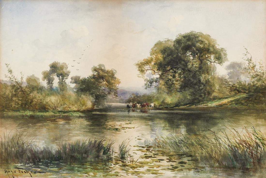 Hugo Anton Fisher (1854-1916) Landscape - 2