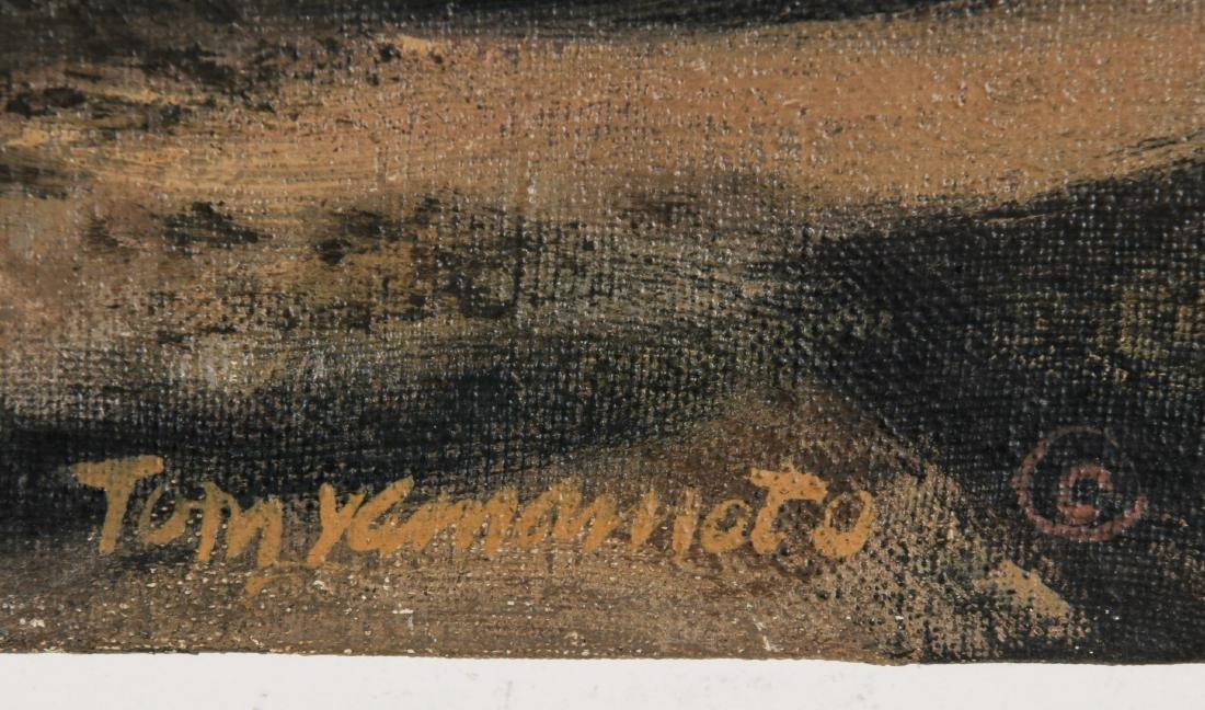 Thomas Yamamoto (American, 1917-2004) Painting on - 3