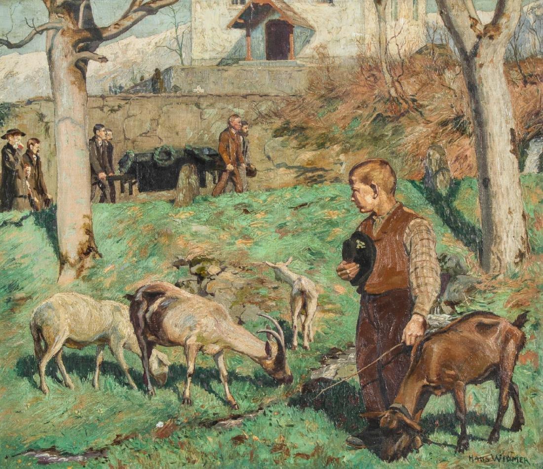 Hans Widmer (Swiss, 1872-1925) Painting