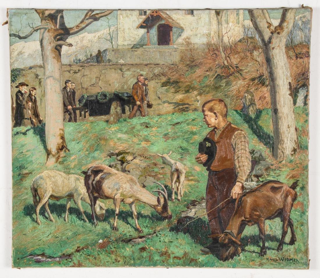 Hans Widmer (Swiss, 1872-1925) Painting - 2