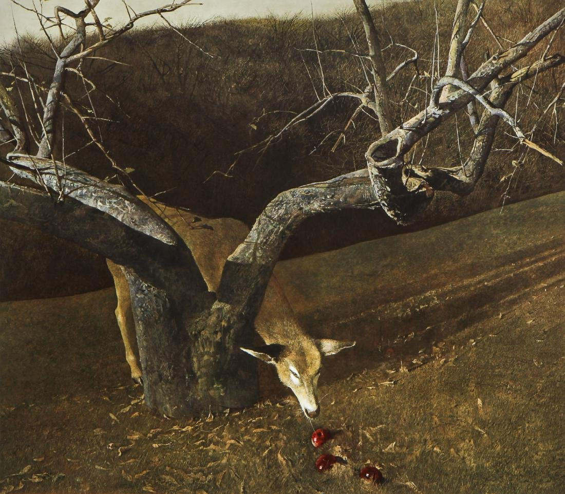 "Andrew Wyeth (1917-2009) ""Jacklight"", 1980"