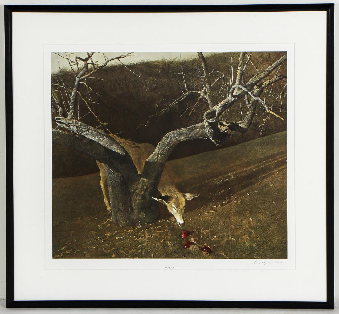 "Andrew Wyeth (1917-2009) ""Jacklight"", 1980 - 2"