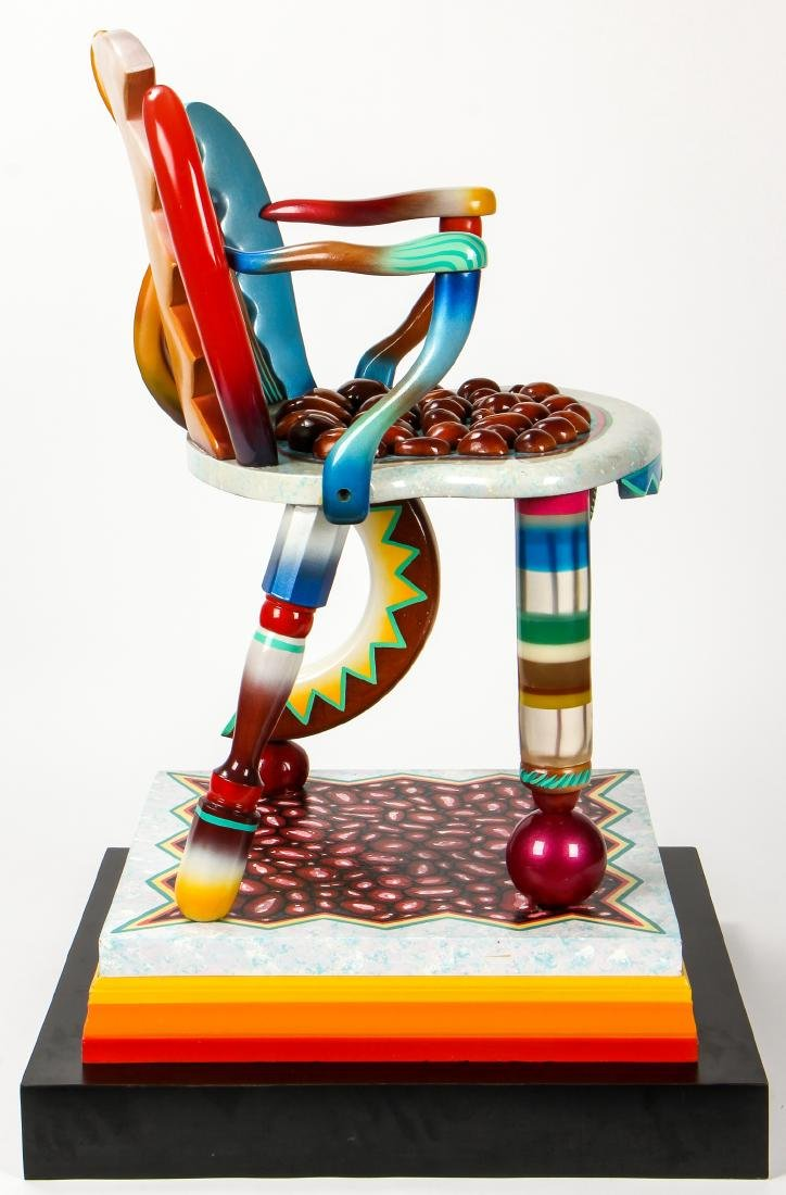 """Daniel Meyer (American, 20th c.) """"Tongue and Groove"""", - 2"""