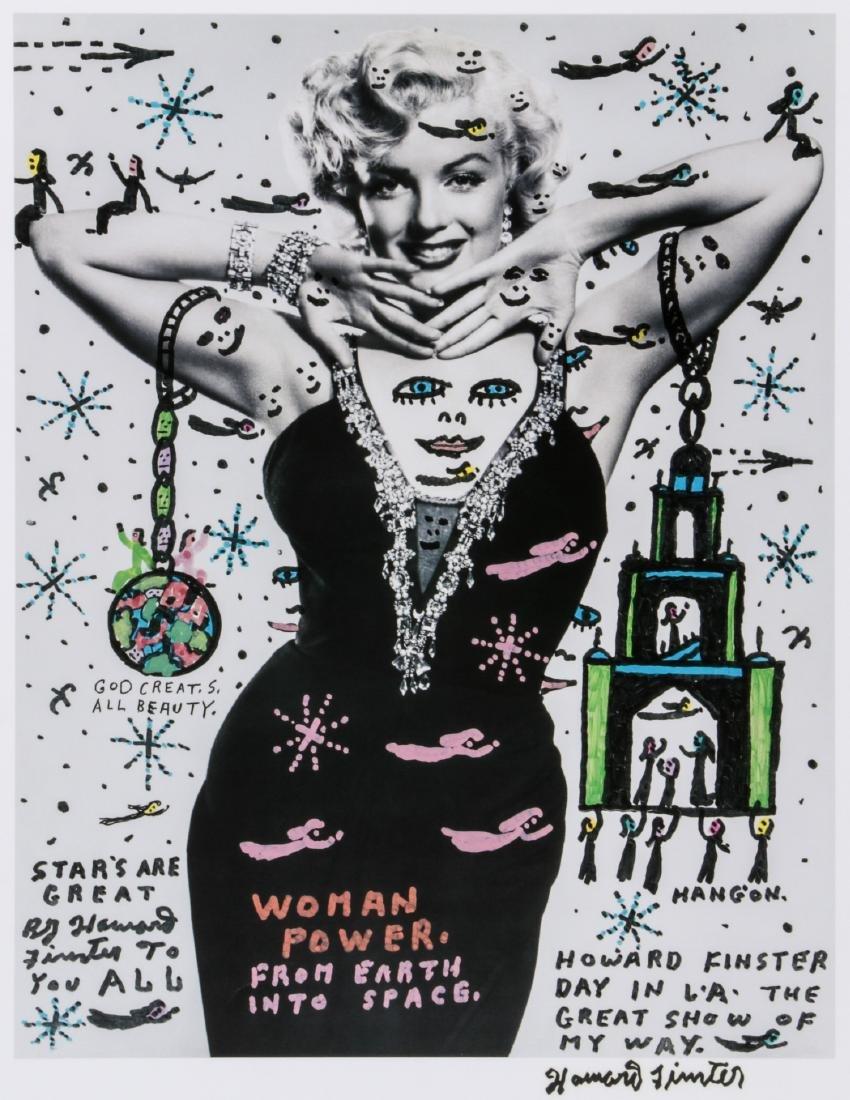 "Howard Finster (American, 1916-2001) ""Woman Power"""