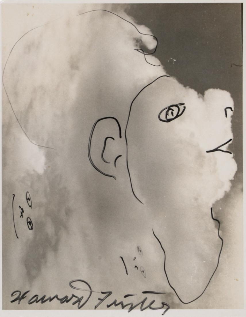 "Howard Finster (American, 1916-2001) ""Cloud Face"""