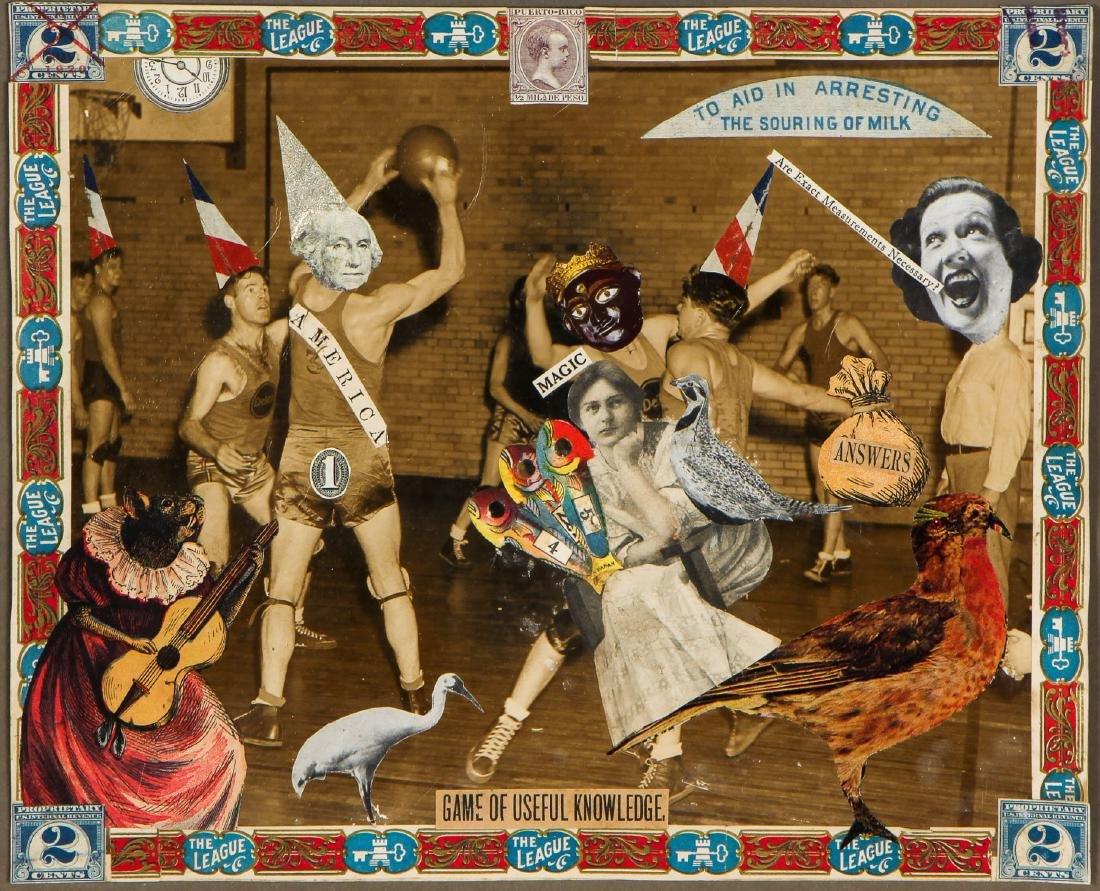 """Felipe Jesus Consalvos (1891-1960) """"Game of Useful"""