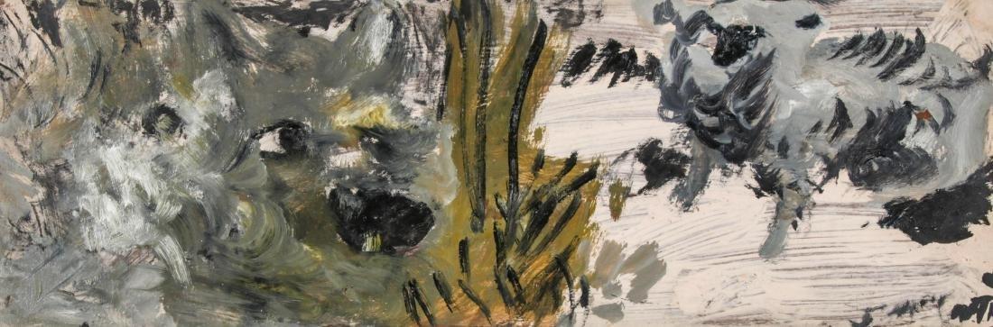 Justin McCarthy (1892-1977) Wolf and Sheep