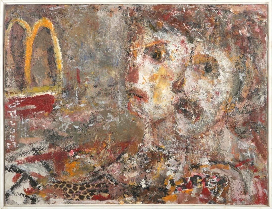 "Jim Bloom (American, b. 1968) ""Golden Arches"""
