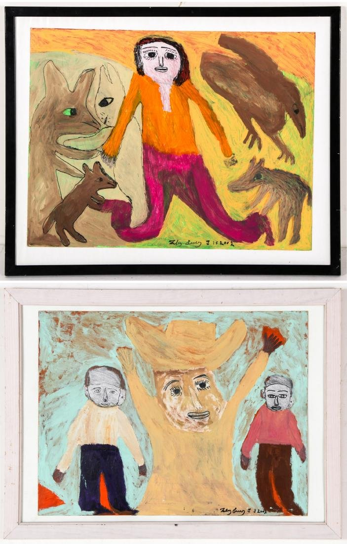 2 Toby Ivey (1944-2007) Paintings