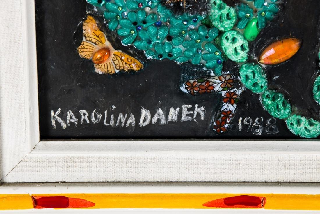 Karolina Danek (20th c.) Mixed Media Painting - 3