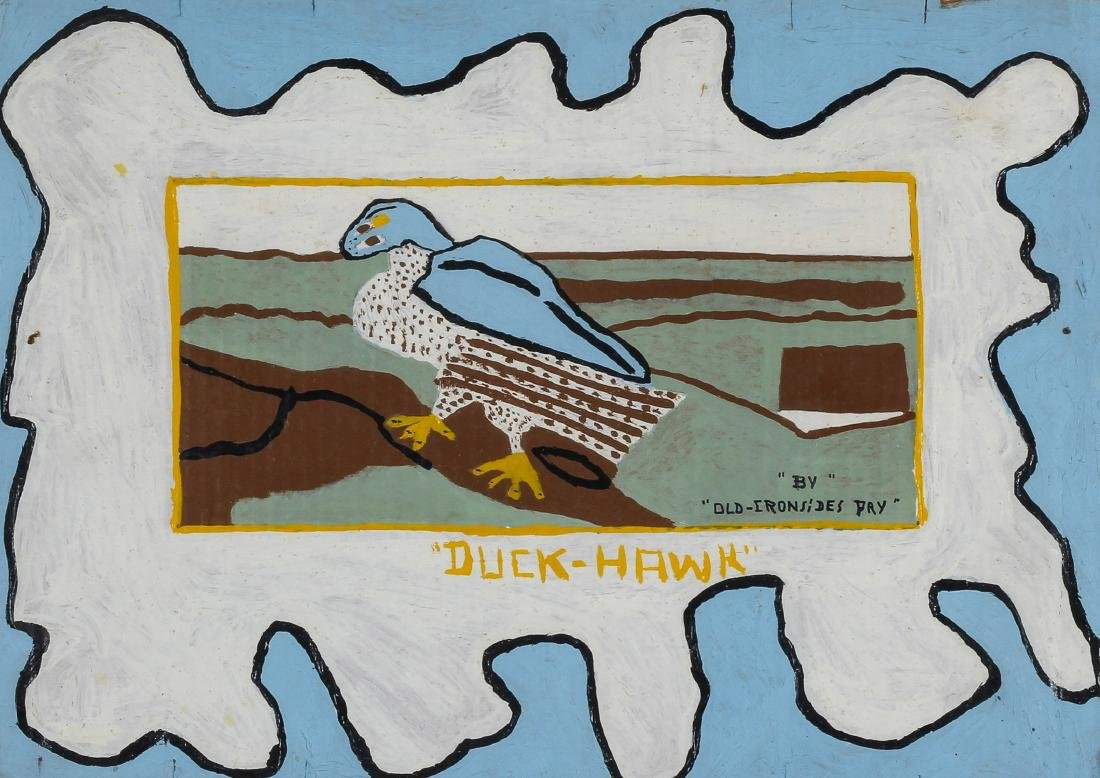 """Old Ironsides Pry (1921-1987) """"Duck-Hawk"""""""