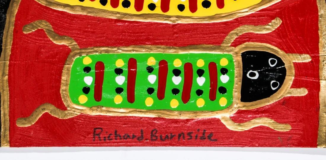 Richard Burnside (American, b. 1940) 2 Paintings - 2
