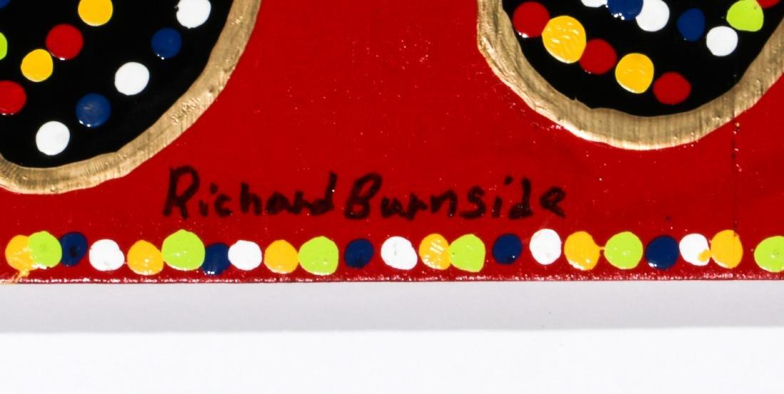 Richard Burnside (American, b. 1940) 2 Paintings - 3