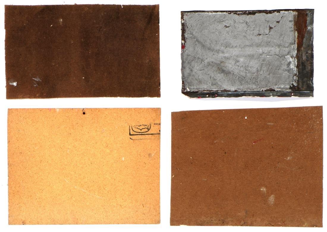 R.A. Miller (American, 1912-2006) 4 Paintings - 2