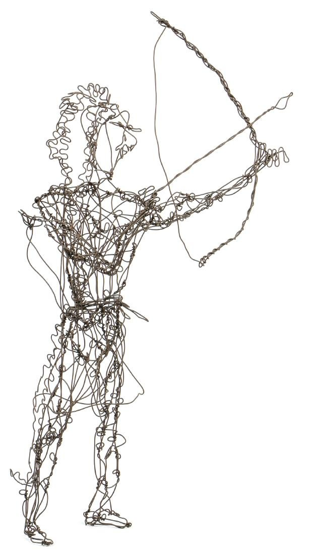 Thai Varick (American, 1941 - 2001) Wire Sculpture