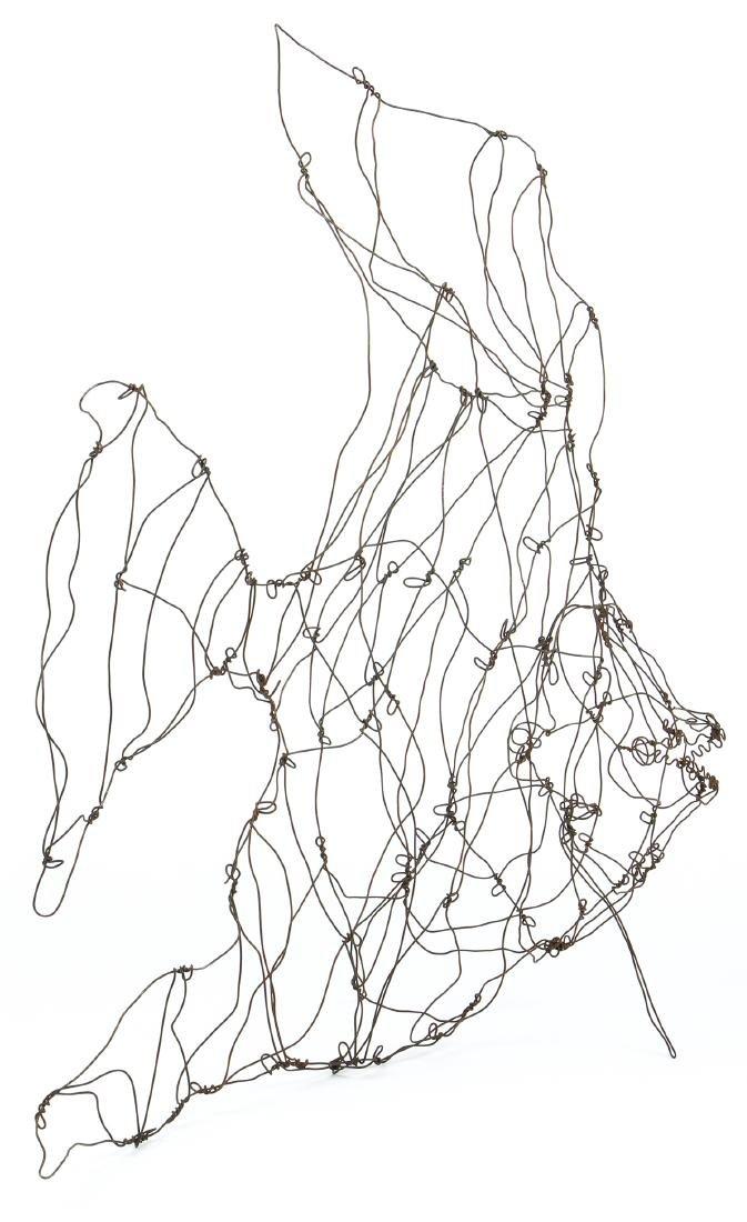 Thai Varick (American, 1941 - 2001) Wire Sculpture - 2