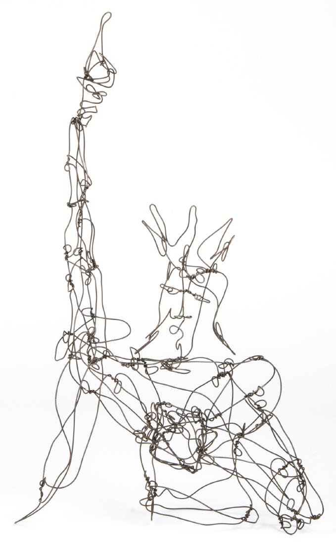 Thai Varick (American, 1941 - 2001) Wire Sculpture