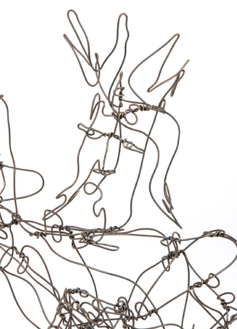 Thai Varick (American, 1941 - 2001) Wire Sculpture - 9