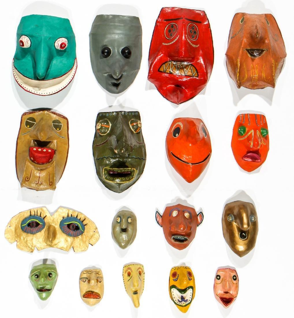 Gregory Dawson (USA, 1937-2007) 17 Masks