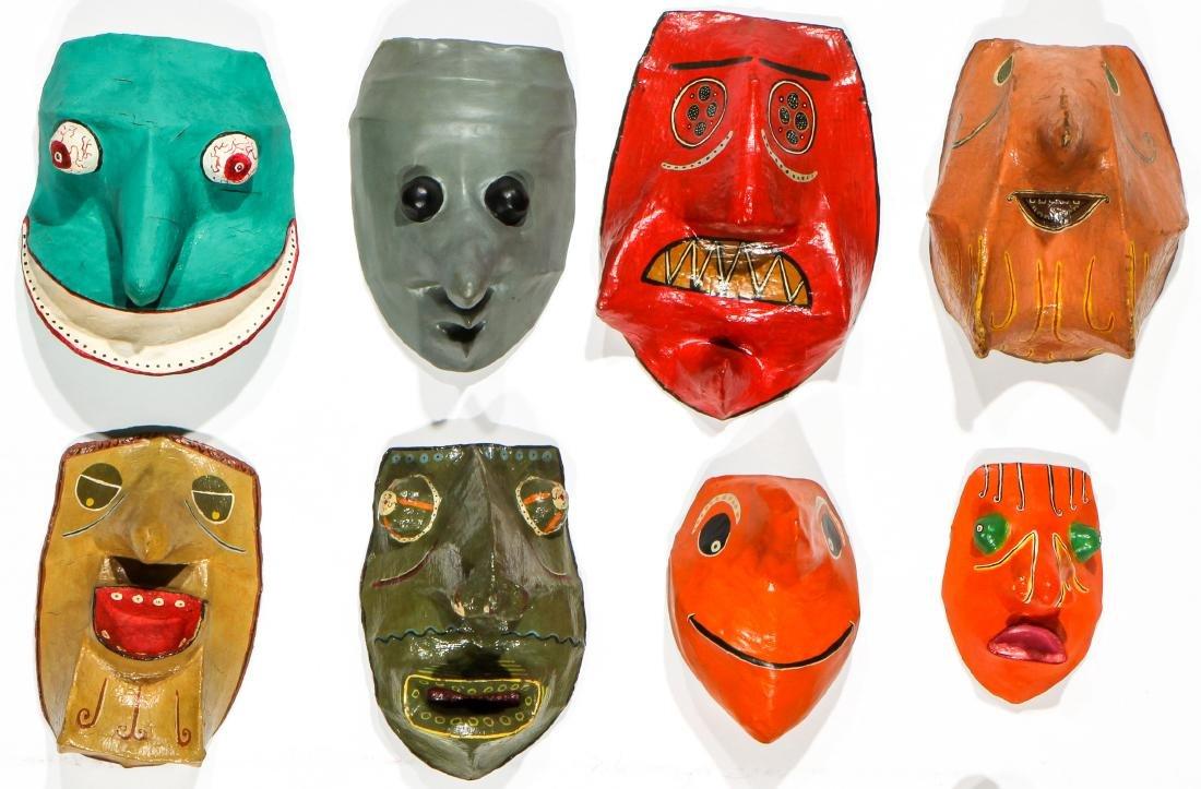 Gregory Dawson (USA, 1937-2007) 17 Masks - 2