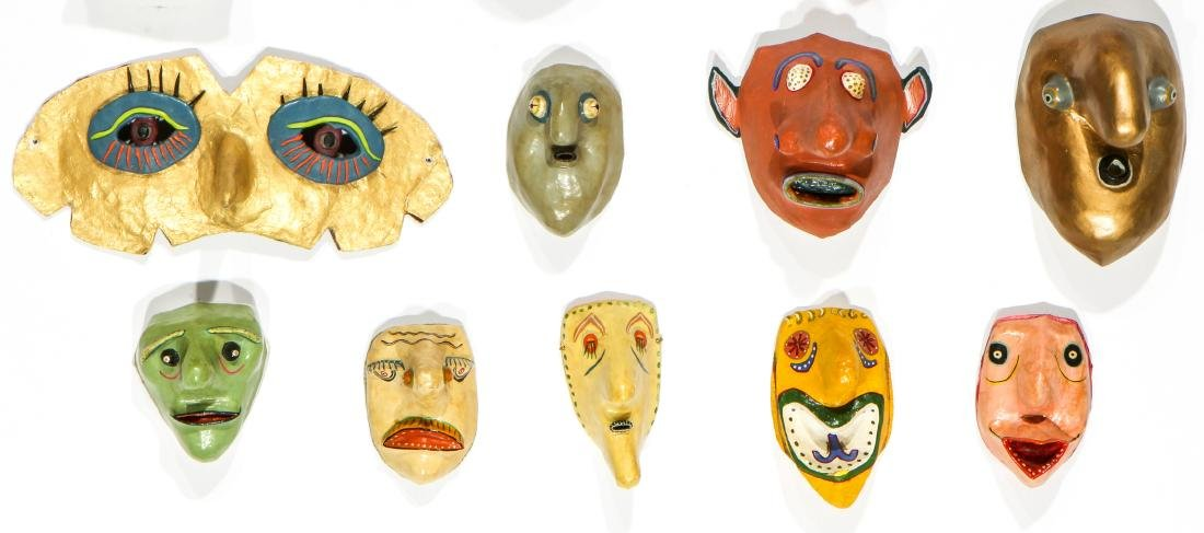 Gregory Dawson (USA, 1937-2007) 17 Masks - 3