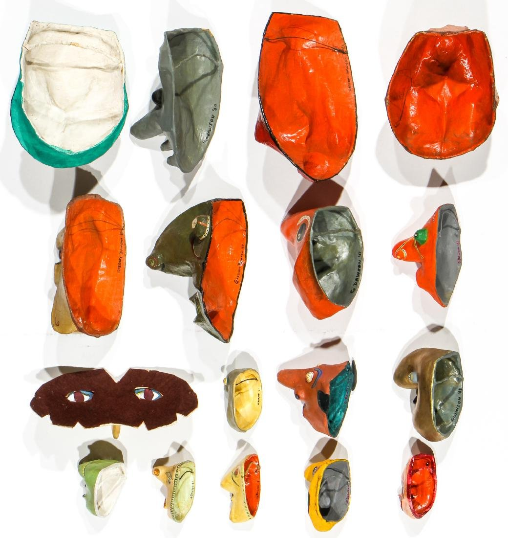 Gregory Dawson (USA, 1937-2007) 17 Masks - 4