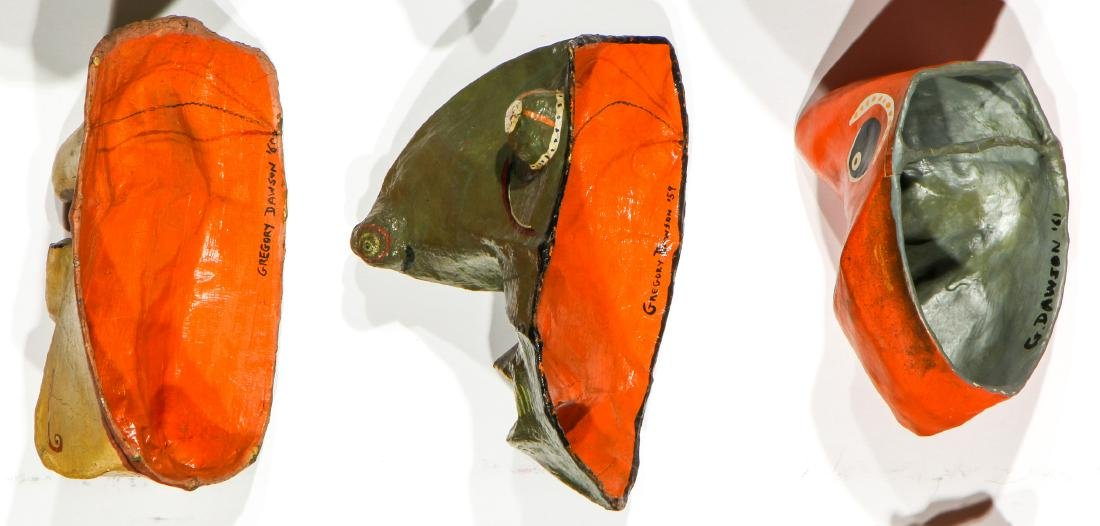 Gregory Dawson (USA, 1937-2007) 17 Masks - 5