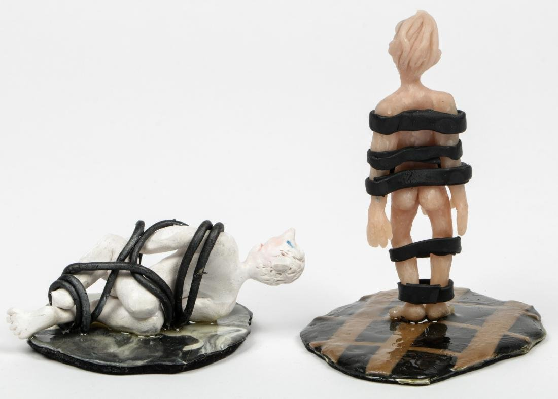 Gregory Dawson (USA, 1937-2007) 4 Bondage Sculptures - 3