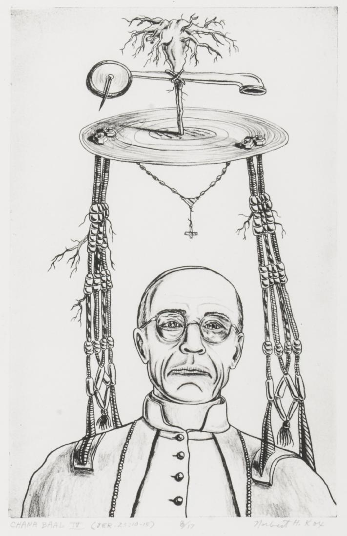 "Norbert Kox (American, b. 1945) ""Chana Baal IV Jer"