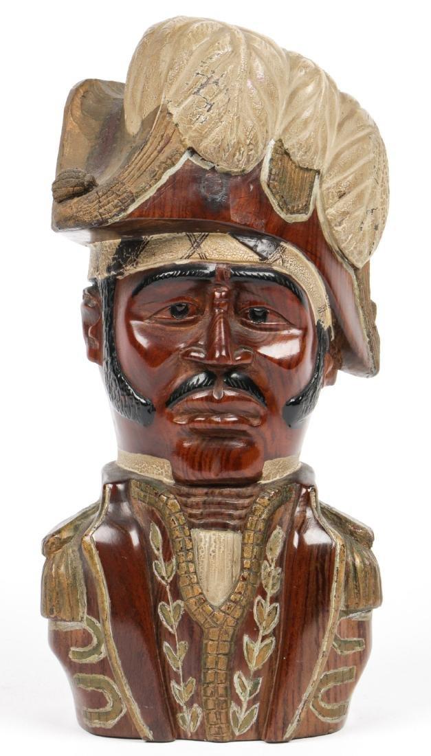 Haitian (20th c.) Bust of Jean-Jacques Dessalines