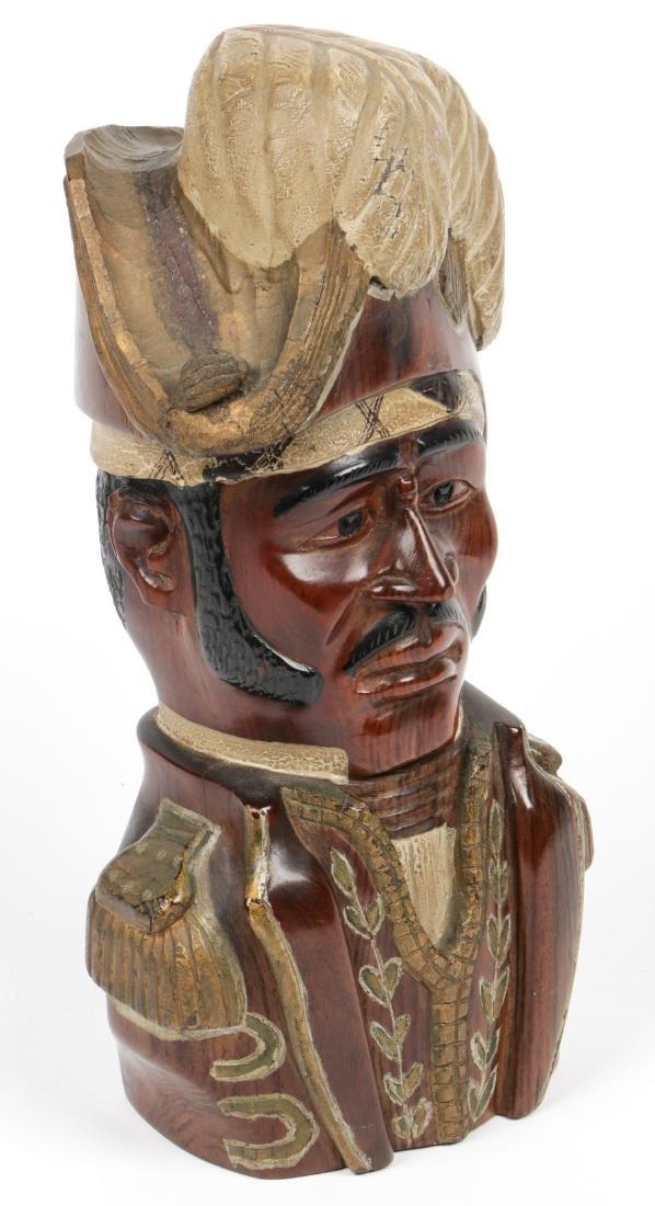 Haitian (20th c.) Bust of Jean-Jacques Dessalines - 2