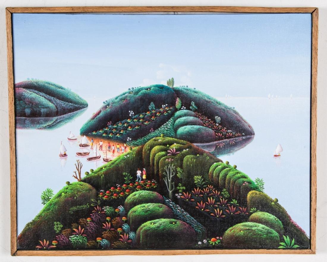 Mario Montilus (Haitian, b. 1961) Two Works - 5