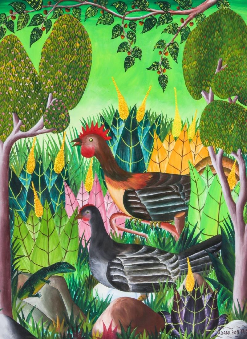 Adam Leontus (Haitian, 1928-1986) Painting