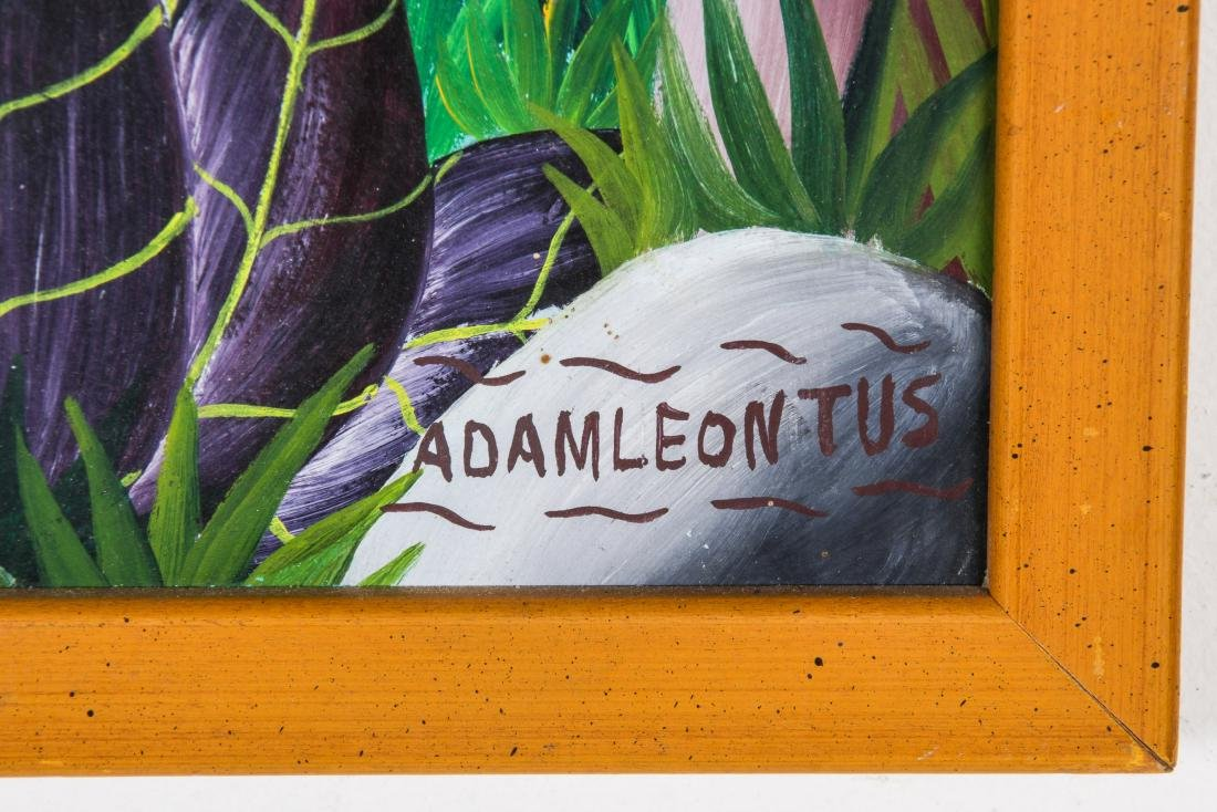 Adam Leontus (Haitian, 1928-1986) Painting - 3