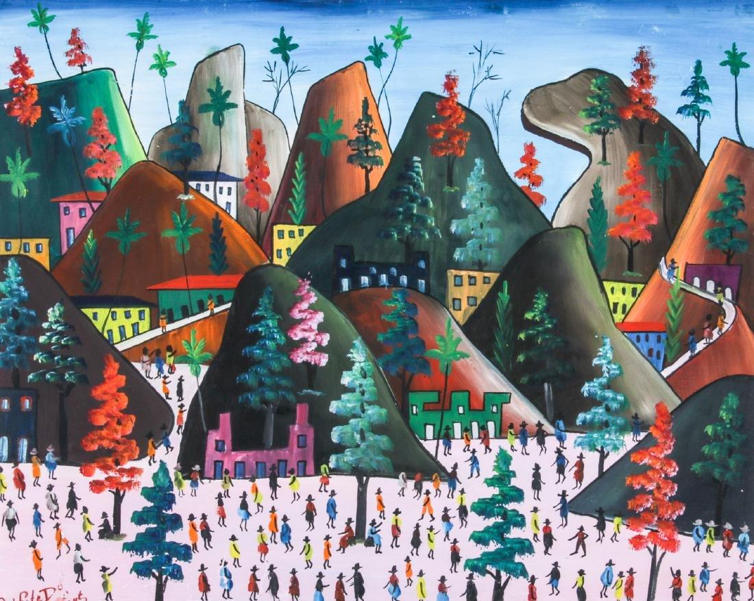 Prefete Duffaut (Haitian, 1923-2012) Painting