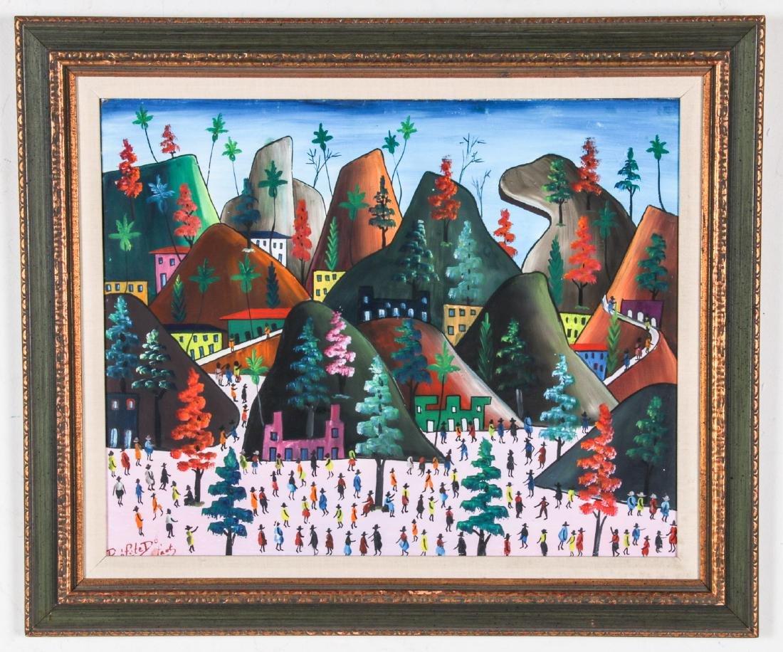 Prefete Duffaut (Haitian, 1923-2012) Painting - 2