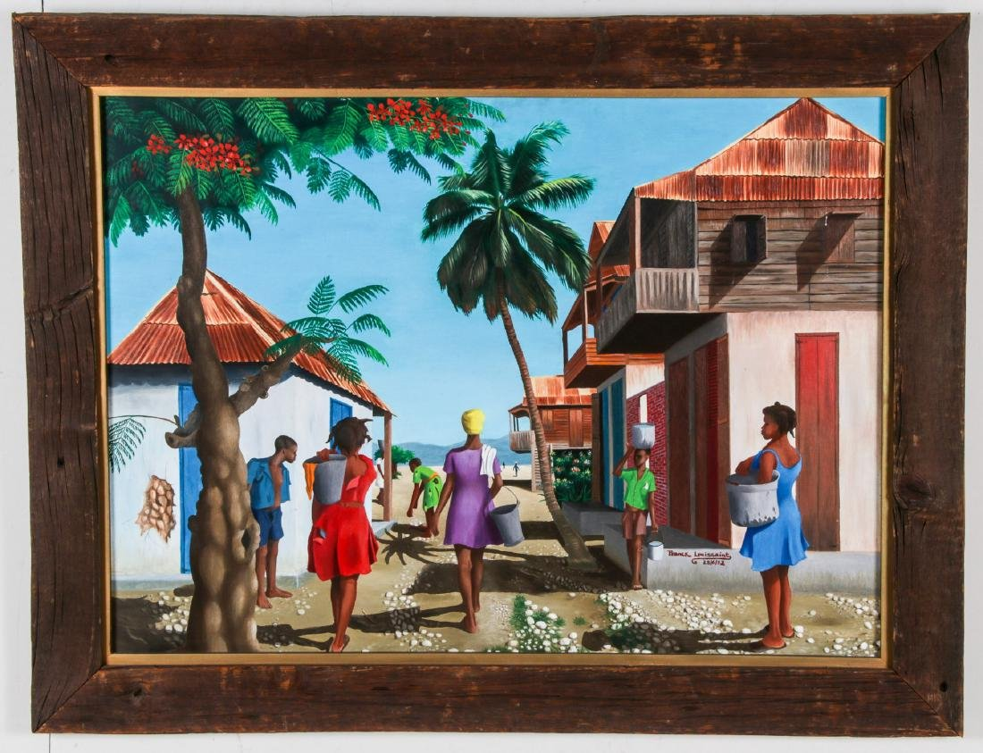 Franck Louissaint (Haitian, b. 1949) Painting, 1972 - 2