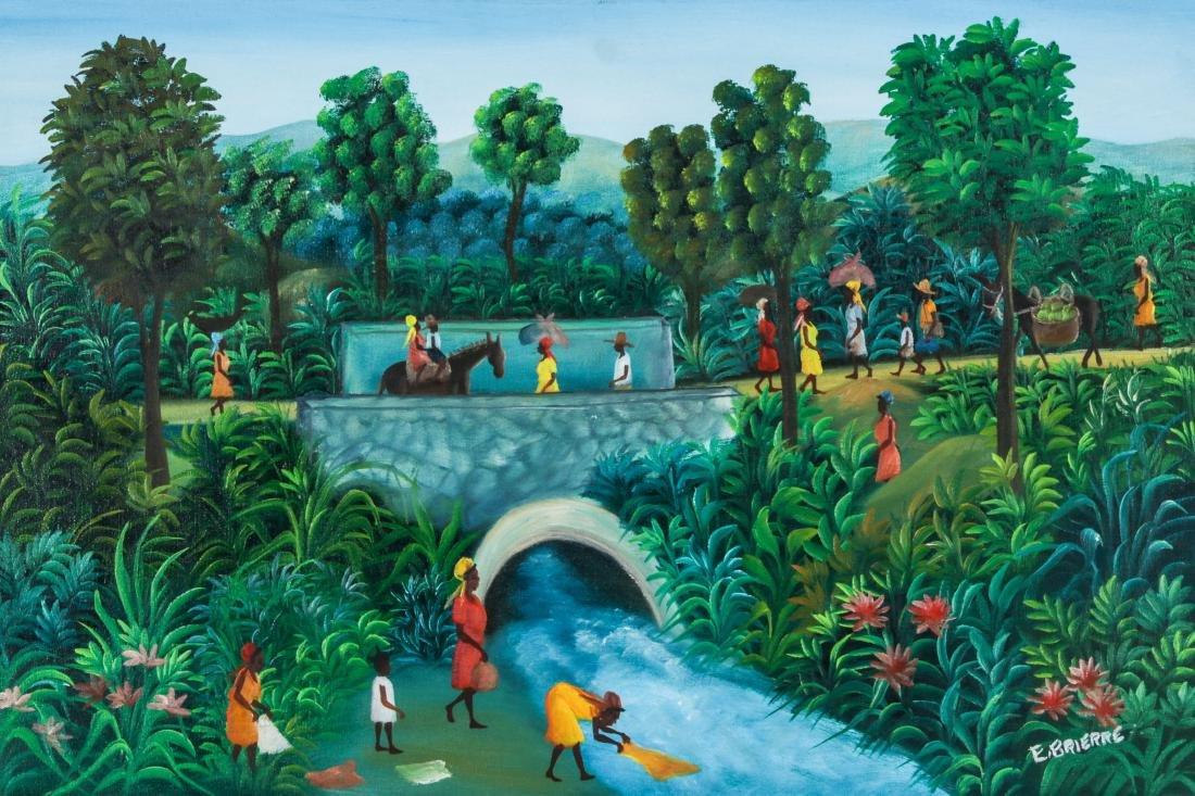 Edgar Brierre (Haitian, 20th c.) Painting