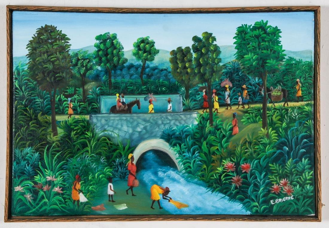 Edgar Brierre (Haitian, 20th c.) Painting - 2