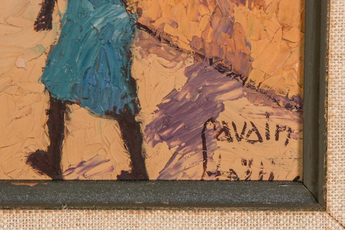 Petion Savain (Haitian, 1906-1973) Village Scene - 3