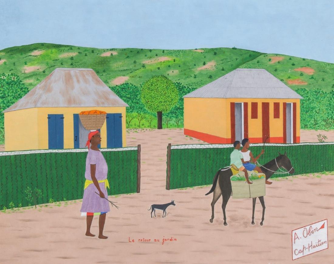 """Antoine Obin (Haitian/Cap-Haitien, 1929-1991) """"Le"""