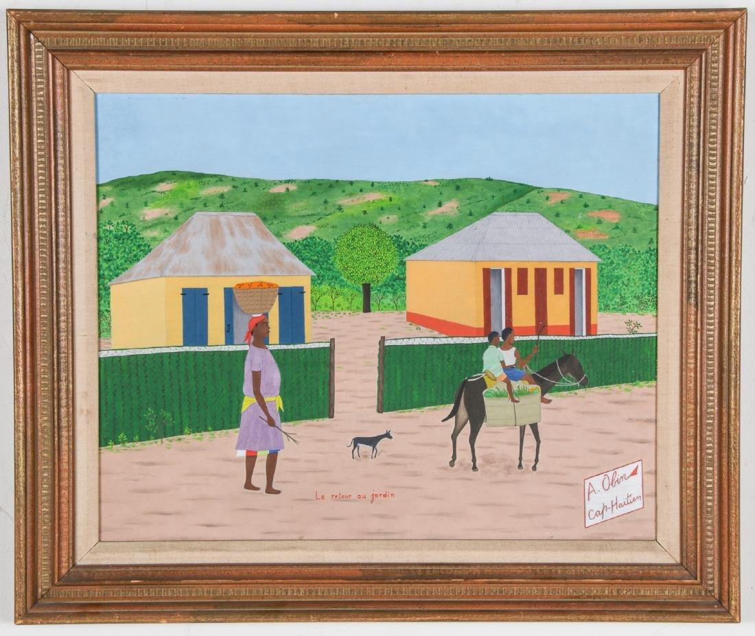 """Antoine Obin (Haitian/Cap-Haitien, 1929-1991) """"Le - 2"""