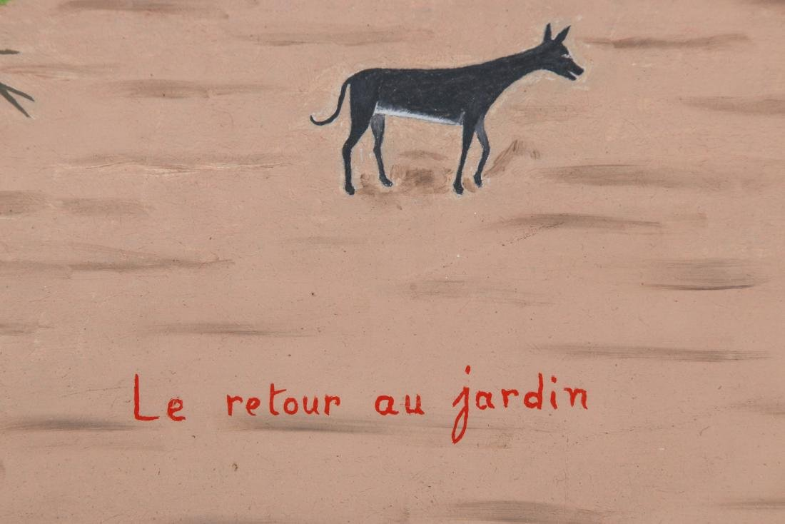"""Antoine Obin (Haitian/Cap-Haitien, 1929-1991) """"Le - 3"""