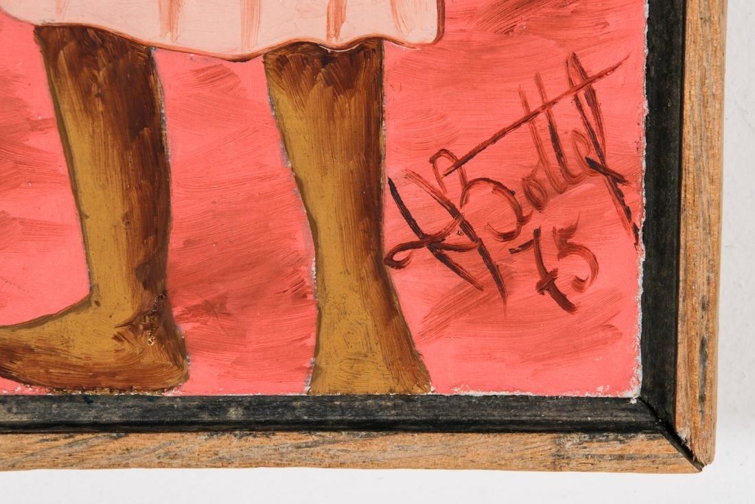 Henry Bottex (Haitian, 20th c.) 3 Paintings - 6