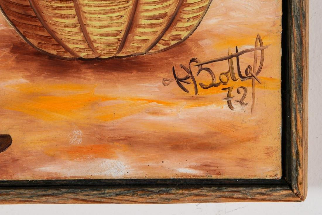 Henry Bottex (Haitian, 20th c.) 3 Paintings - 9