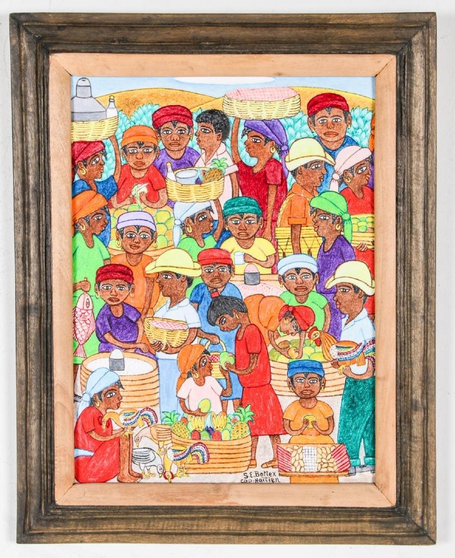 Seymour E. Bottex (Haitian/Cap-Haitien, 1922-2016) - 2