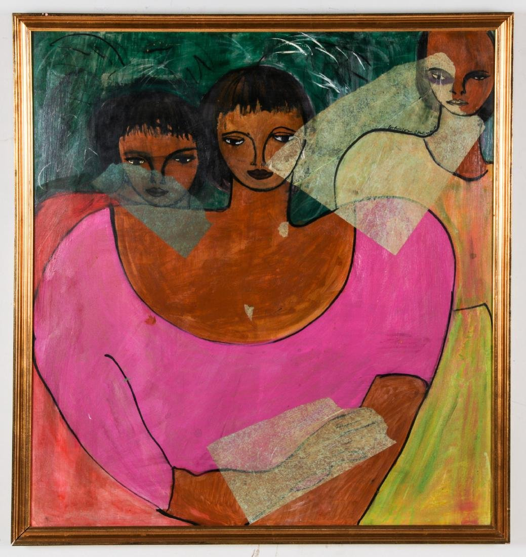 4 Works by Various Haitian (20th c.) Artists - 8