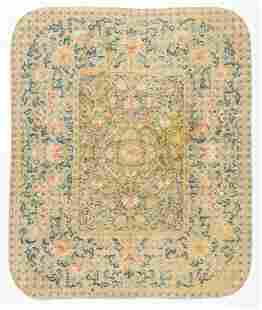 Antique Chinese Silk Embroidered Alter Cloth